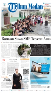 Tribun Medan Cover 22 February 2020