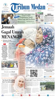 Tribun Medan Cover 29 February 2020