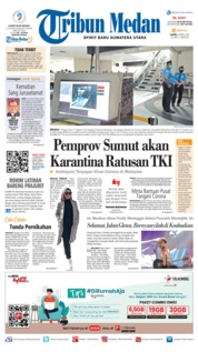 Cover Tribun Medan 09 April 2020