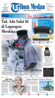 Tribun Medan Cover 23 May 2020