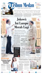 Tribun Medan Cover 10 July 2020