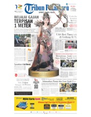 Cover Tribun Pekanbaru 20 November 2019