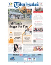 Cover Tribun Pekanbaru 21 November 2019