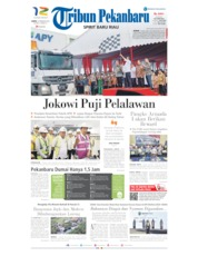 Tribun Pekanbaru Cover 22 February 2020
