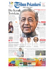 Tribun Pekanbaru Cover 25 February 2020