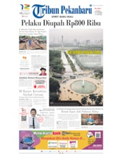 Tribun Pekanbaru Cover 26 February 2020