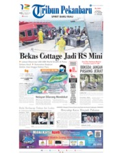 Tribun Pekanbaru Cover 27 February 2020