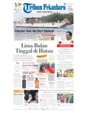 Tribun Pekanbaru Cover 29 February 2020