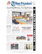 Tribun Pekanbaru Cover 03 July 2020