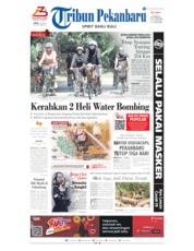 Tribun Pekanbaru Cover 06 July 2020