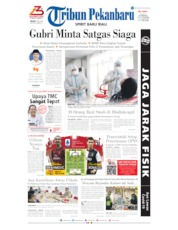 Tribun Pekanbaru Cover 07 July 2020