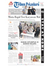 Tribun Pekanbaru Cover 08 July 2020