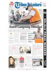 Tribun Pekanbaru Cover 09 July 2020