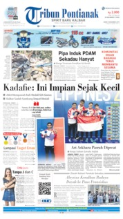 Tribun Pontianak Cover 09 December 2019