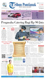 Tribun Pontianak Cover 04 April 2020