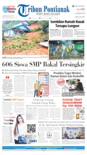 Tribun Pontianak Cover 10 July 2020