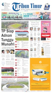 Tribun Timur Cover 08 November 2019