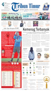 Tribun Timur Cover 11 November 2019