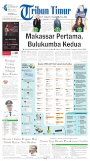 Tribun Timur Cover 12 November 2019