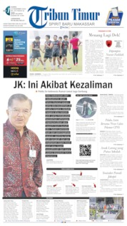Tribun Timur Cover 14 November 2019