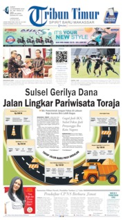 Cover Tribun Timur 15 November 2019