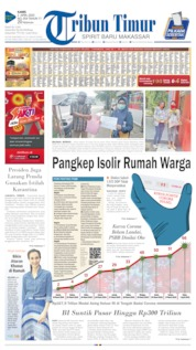 Cover Tribun Timur 02 April 2020