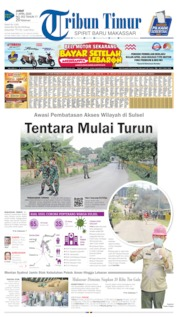 Cover Tribun Timur 03 April 2020