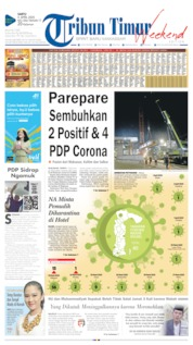 Cover Tribun Timur 04 April 2020