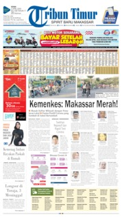 Cover Tribun Timur 06 April 2020