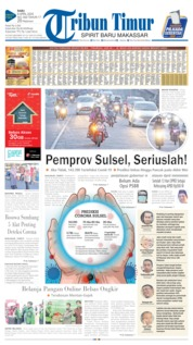 Cover Tribun Timur 08 April 2020