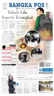 Bangka Pos Cover 14 November 2019