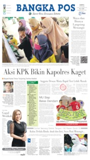 Bangka Pos Cover 04 July 2020