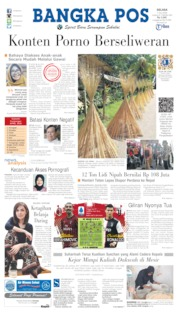 Bangka Pos Cover 07 July 2020