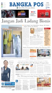 Cover Bangka Pos / 09 JUL 2020
