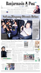 Banjarmasin Post Cover 05 November 2019