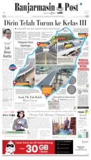 Cover Banjarmasin Post 06 November 2019