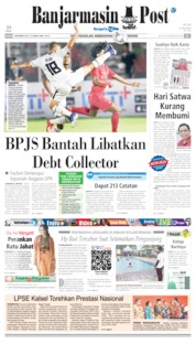 Banjarmasin Post Cover 07 November 2019