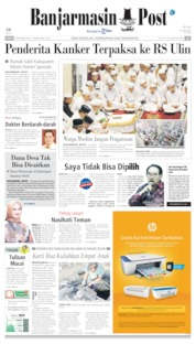 Banjarmasin Post Cover 08 November 2019
