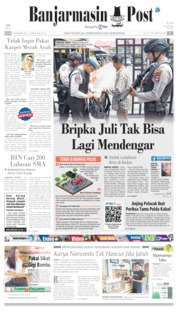 Banjarmasin Post Cover 14 November 2019