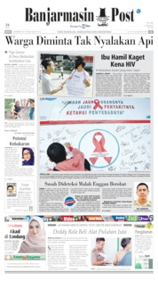 Banjarmasin Post Cover 02 December 2019