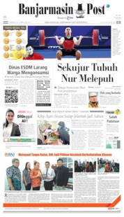 Cover Banjarmasin Post 03 Desember 2019