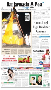 Banjarmasin Post Cover 08 December 2019