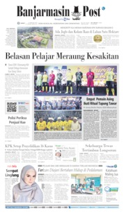 Banjarmasin Post Cover 21 February 2020