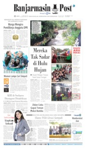 Cover Banjarmasin Post 22 Februari 2020