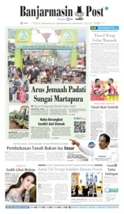 Banjarmasin Post Cover 29 February 2020