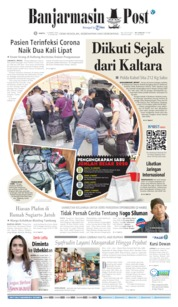 Cover Banjarmasin Post 14 Maret 2020