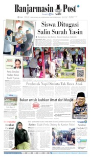 Cover Banjarmasin Post 18 Maret 2020