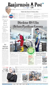 Cover Banjarmasin Post 19 Maret 2020