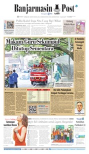 Cover Banjarmasin Post 24 Maret 2020