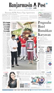 Cover Banjarmasin Post 27 Maret 2020